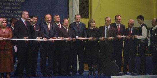 Başbakan Sayın Recep Tayyip Erdoğan'ın katılımı ile Tapu Dağıtım Töreni