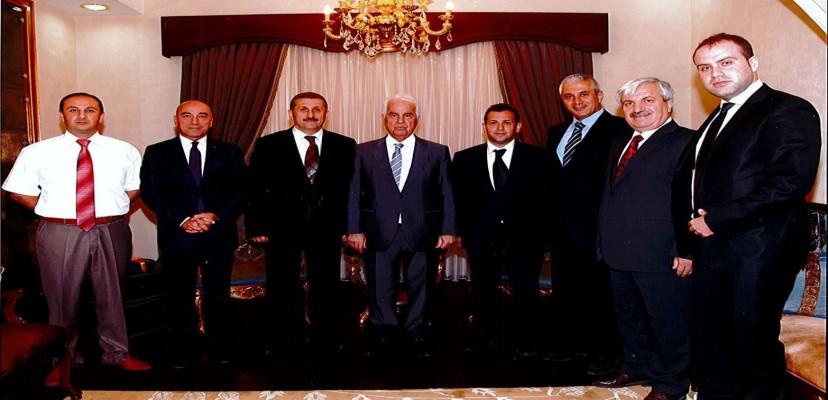 KKTC Cumhurbaşkanı Sn. Derviş Eroğlu'na KKTC Kadastro Yenileme Projesi Brifingi Verildi