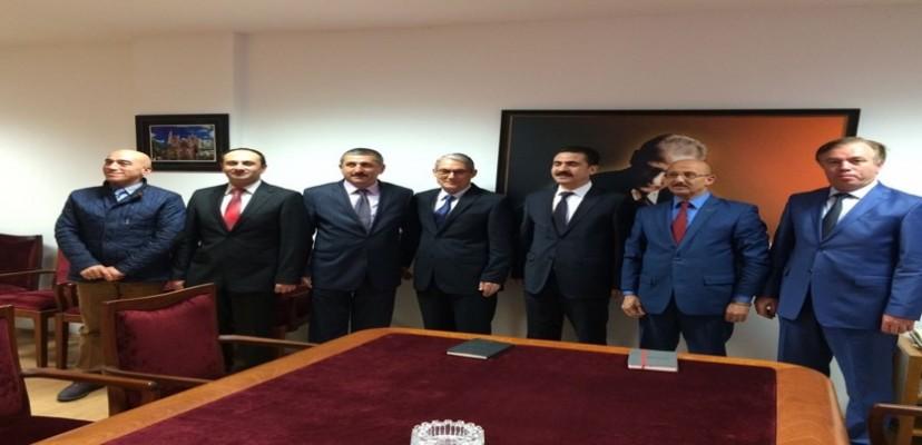KKTC Büyükelçisi Sn. Derya Kanbay'a KKTC Kadastro Yenileme Projesi ile ilgili Brifing Verilmiştir.