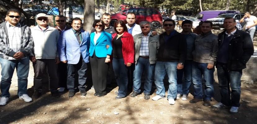 KKTC Şirket Pikniğine  KKTC Meclis Başkanı Sn. Sibel Siber Teşrif Etmiştir
